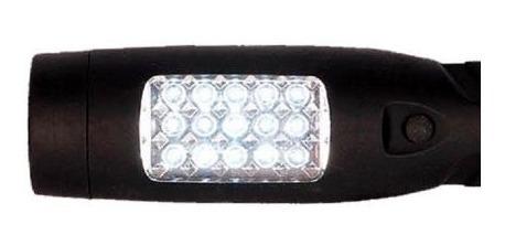 linterna recargable atomlux alta potencia 15 leds blancos