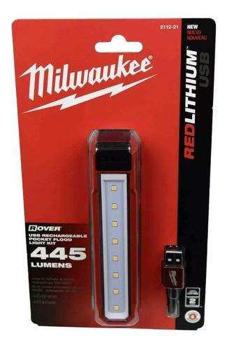linterna recargable lámpara led milwaukee con imán