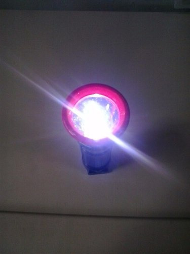 linterna recargable led