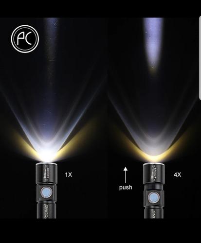 linterna recargable usb 2000 lumenes despacho gratutito