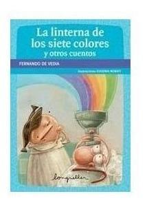 linterna siete colores con dedicatoria del autor para vos