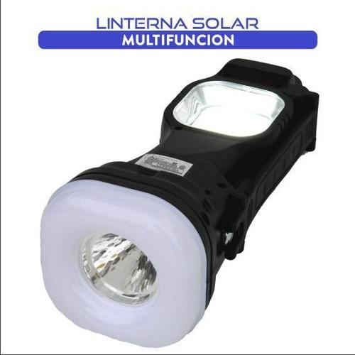 linterna solar multifunción