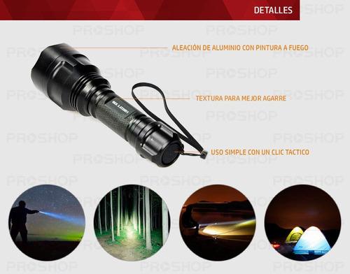 linterna tactica led recargable lumify x10 original + kit !!
