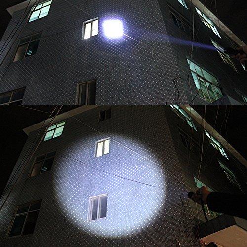 linterna táctica, luz accionada alta de tac según lo visto