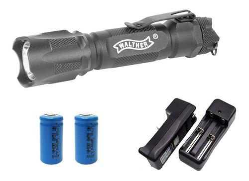 linterna tactica walther rbl 800 bateria cargador