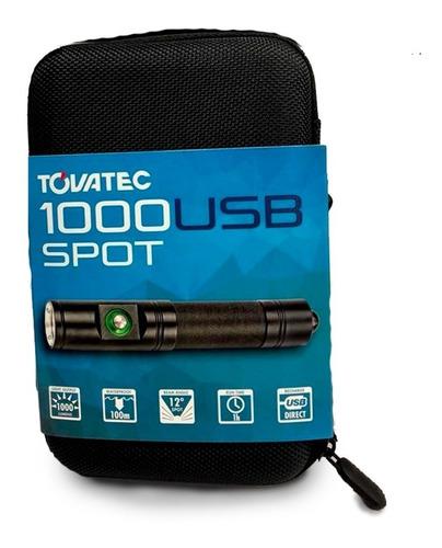 linterna tovatec t1000 luz spot - t1000s