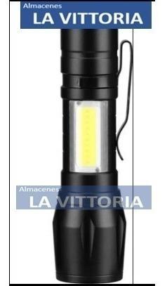 linterna usb recargable varias luces