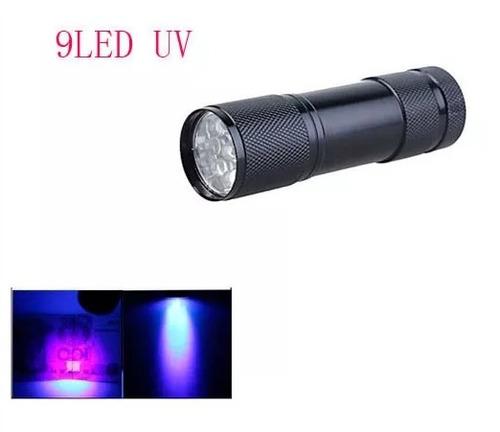 linterna uv lampara ultravioleta luz negra billetes luz led