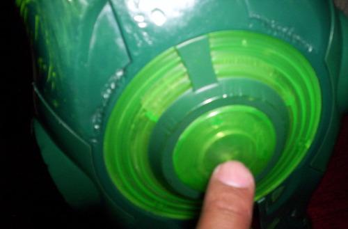 linterna verde linterna con luz y armas figura liga dc 2011