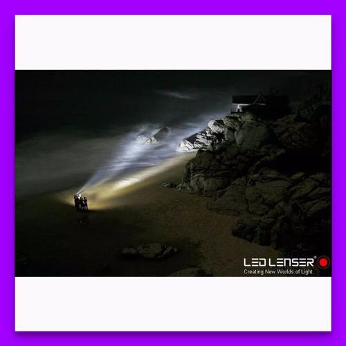 linterna vincha minero led lenser 180 lumens seo 5 alemana