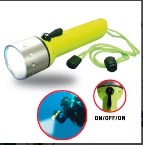 linternas acuáticas led sumergible ideal para el buceo