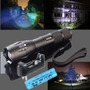 Linterna Ultrafire Led 2200lm Bateria + Aaa + Cargador Zoom