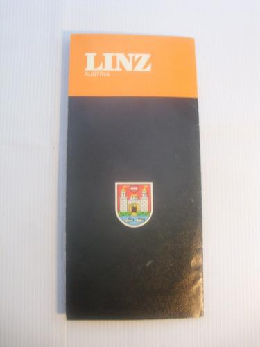 linz austria. instructivo turistico 1972