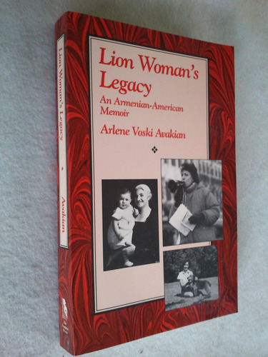 lion woman´s legacy an armenian american - avakian (inglés)