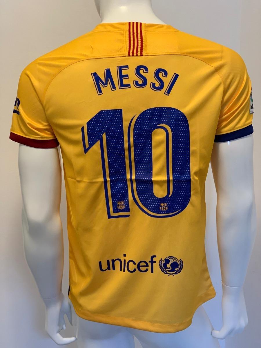 cheap for discount a71f9 9c356 Lionel Messi - Jersey Barcelona - Visita - Versiòn Aficionado - 2019 / 2020