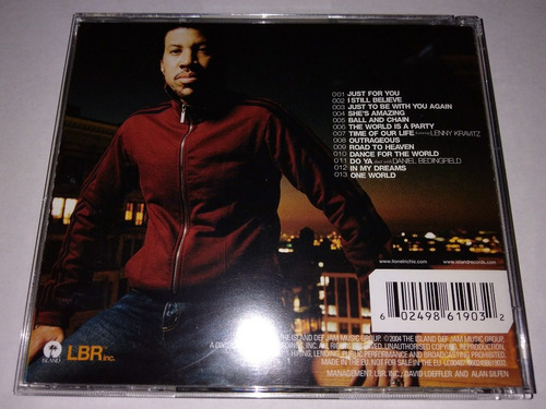 lionel richie - just for you cd usa ed 2004 mdisk