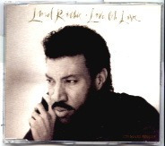 lionel richie love, oh love cd single importado