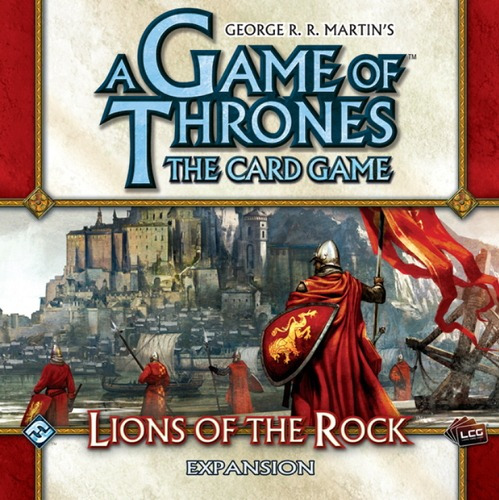 lions of the rock - a game of thrones lcg - jogo imp. ffg