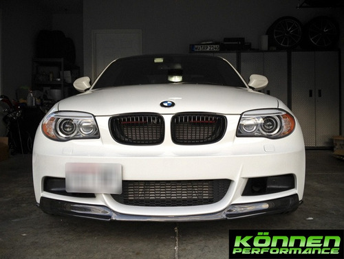 lip defensa bmw serie 1 08-13 spoiler e82 1m 125i 135i m1