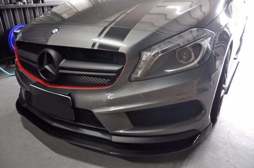 lip delantero mercedes w176 a45 amg fibra de carbon auto gcp