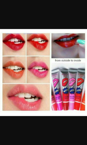 lip glos wow labial romantic bear tatoo x caja de 24 unid.