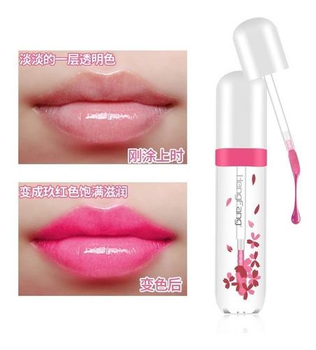 lip gloss muda de cor heng fang importado 1 unidade