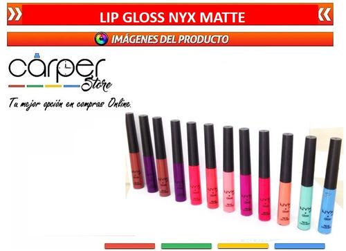 lip gloss nyx matte