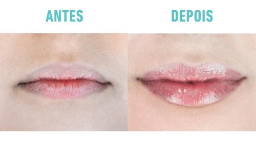 lip volume hialurônico blant gloss volume labial incolor