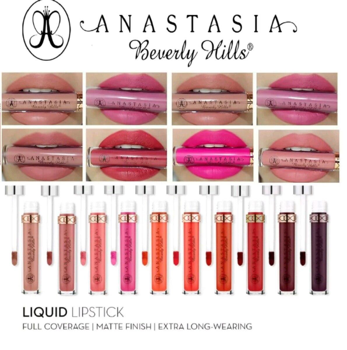 Lipgloss Mate De Anastasia Beverly Hills En 43 Colores