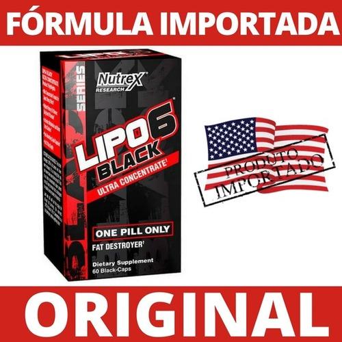 lipo 6 black nutrex ultra termogênico 60caps eua