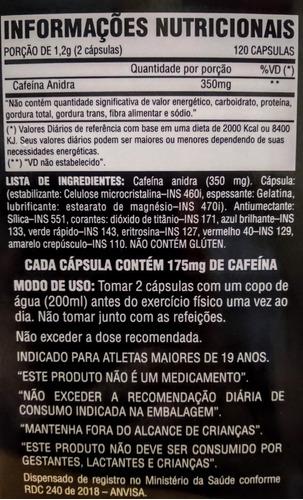lipo 6 black ultra concentrate nutrex 120 cápsulas cafeína