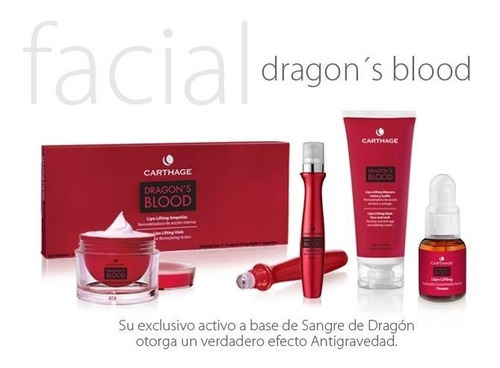 lipo lifting ampollas dragon blood carthage