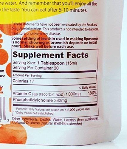 lipo naturals liposomal vitamin c | non-soy | china-free