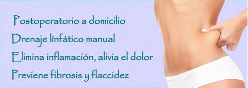 lipoescultura. masaje post lipo. drenaje linfatico.