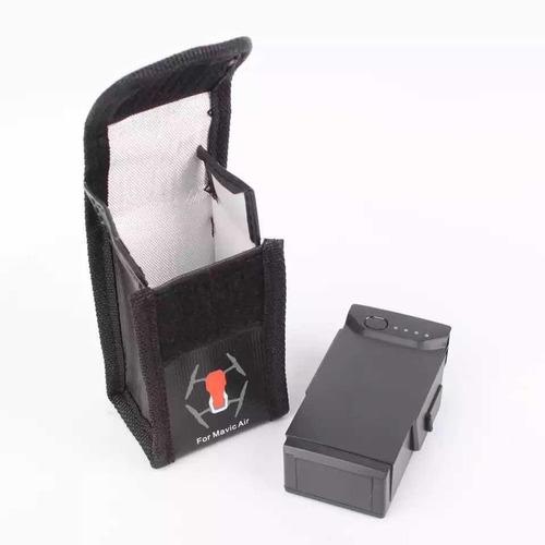 liposafe ignífuga viaje transporte bateria mavic air