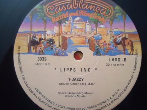 lipps inc / designer music vinyl lp acetato nac.