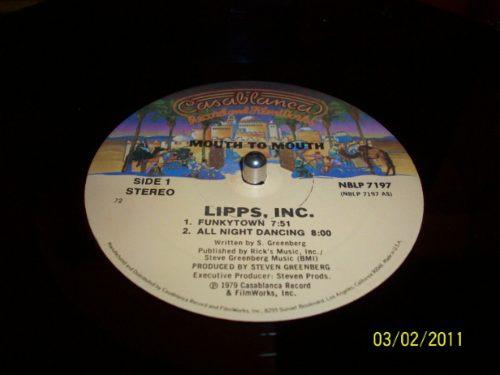 lipps inc mouth to mouth vinyl lp 1980 casablanca records