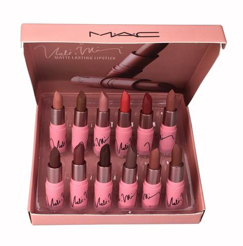 lipstick matte lasting 12 labiales mac