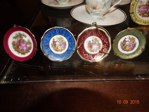 liq piezas de coleccion miniatura limoges originales de lujo