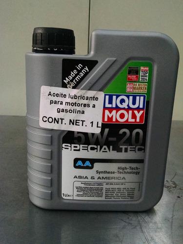 liqui moly aceite special tec aa 5w20 1l original oficial
