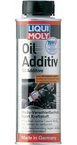 liqui moly antifriccion oil additiv mos2 300ml