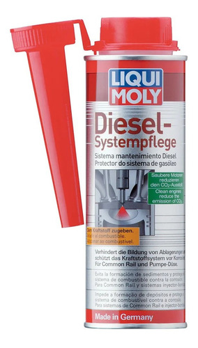 liqui moly diesel systempf: limpia inyectores 250ml