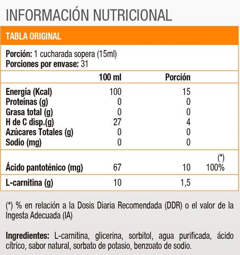 liquid l-carnitine 1500 - 16oz - natural watermelon, met-rx