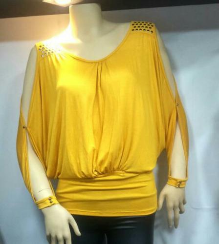 liquidación blusas dama verano talla s  m y l  verano