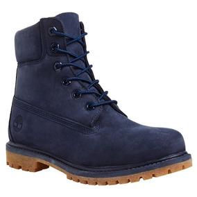 lindos zapatos estilo atractivo materiales superiores Liquidacion Botas Timberland Azul