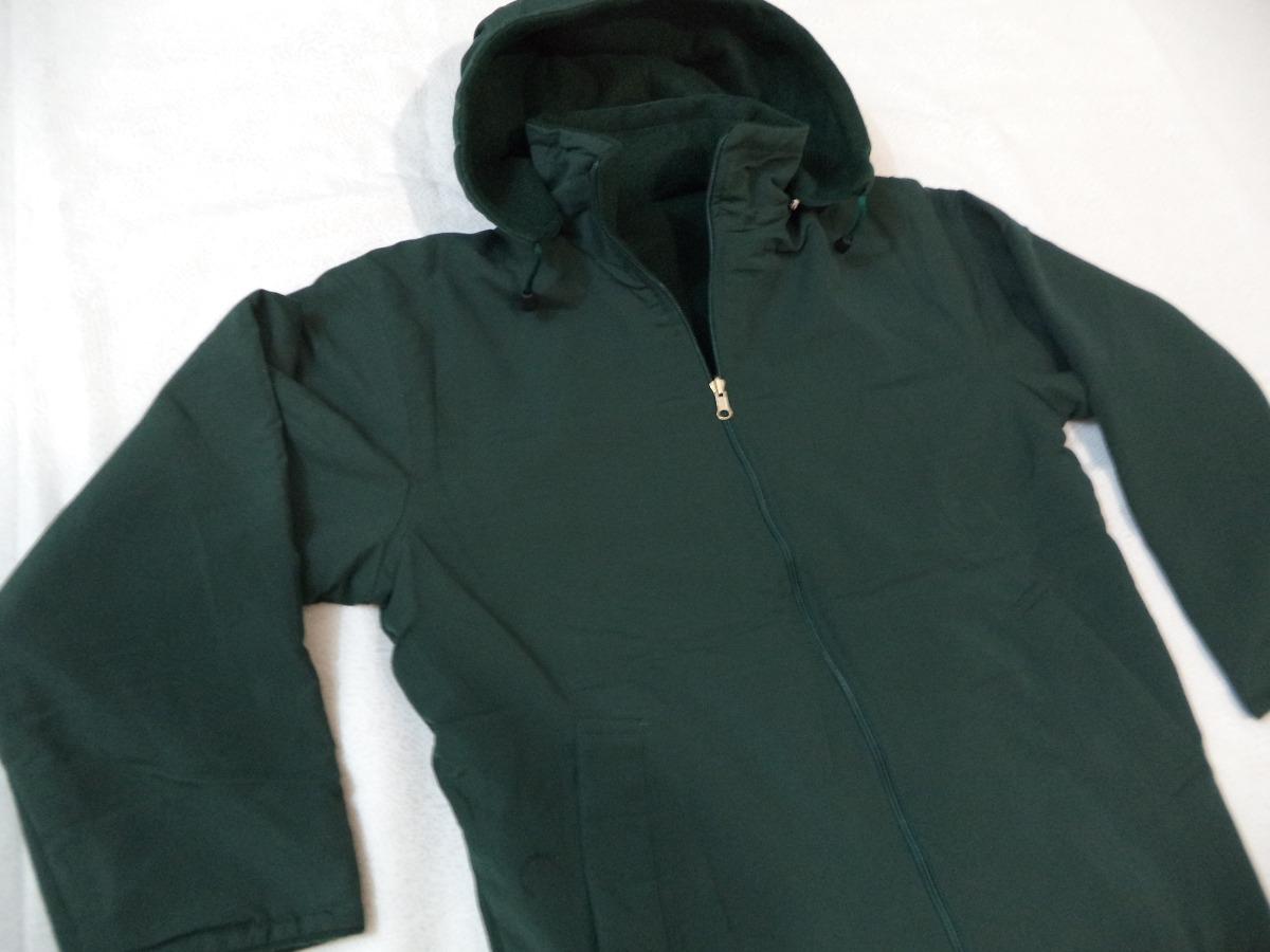 Camperas de abrigo verdes