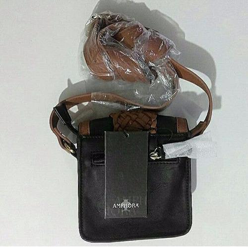 liquidacion!! cartera amphora original / tienda kyv