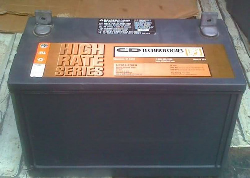 liquidacion de baterías trojan roja t-105 rd$4,900