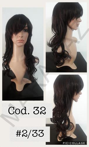 liquidación pelucas kanekalon rulos u ondas