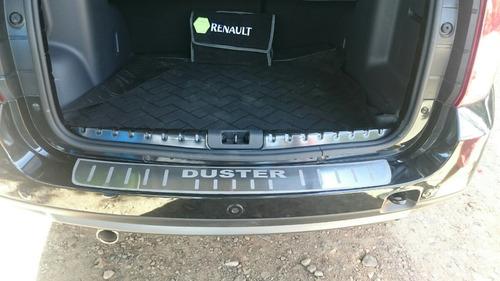 liquidacion! protector de maletero baul renault duster